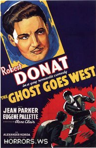 Призрак едет на Запад / The Ghost Goes West (1935)